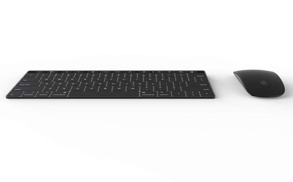 Concept Mac Mini Pro 4 1000x621 Un concept Mac mini Pro présente un Magic Keyboard avec Touch Bar et Touch ID