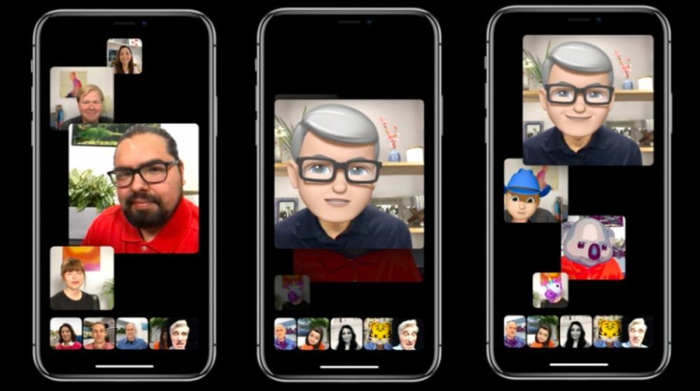 FaceTime iOS 12 Appels de Groupe 1000x559 Les appels vidéo FaceTime de groupe ne seront pas pris en charge sur les anciens iPhone et iPad