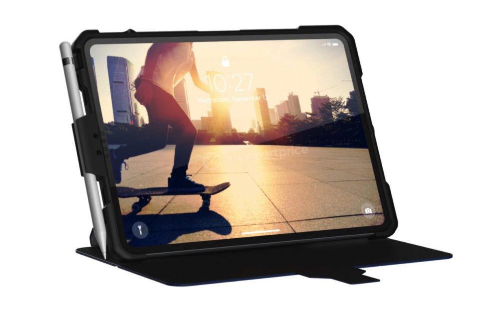 UAG Coque iPad 1000x626 Une coque de protection lève le voile sur le design de liPad Pro de 2018