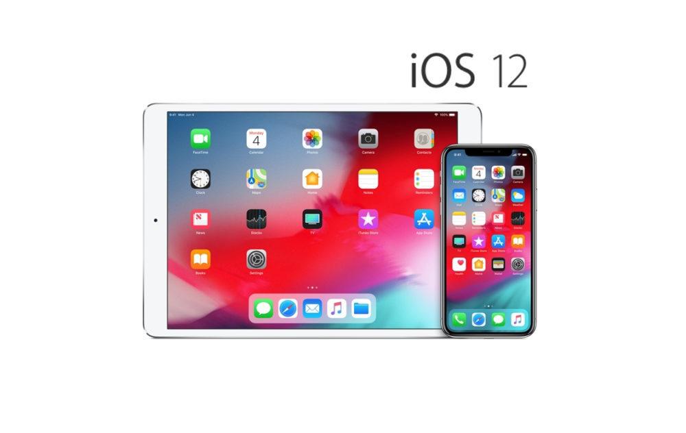 iOS 12 iPhone iPad 1 copie 1000x632 iOS 12.1 bêta 5 est disponible au téléchargement pour iPhone, iPad et iPod touch compatibles