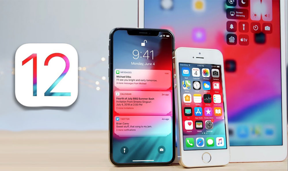 iOS 12 iPhone iPad 2 1000x593 Apple publie iOS 12.4.1 et corrige la faille permettant un jailbreak