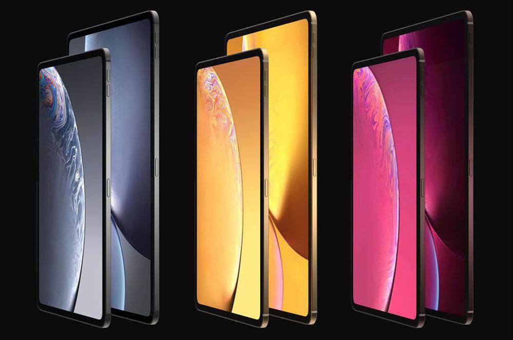 iPad Design Final 1 1000x663 Les derniers rendus montrent le design des iPad Pro de 2018 qui seront dévoilés le 30 octobre