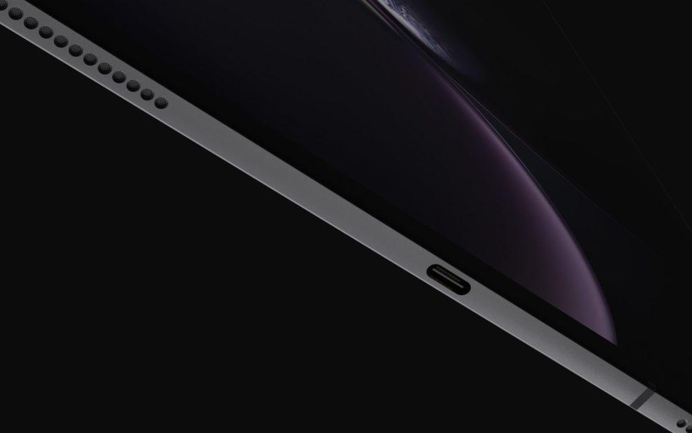 iPad Design Final 5 1000x625 Les derniers rendus montrent le design des iPad Pro de 2018 qui seront dévoilés le 30 octobre