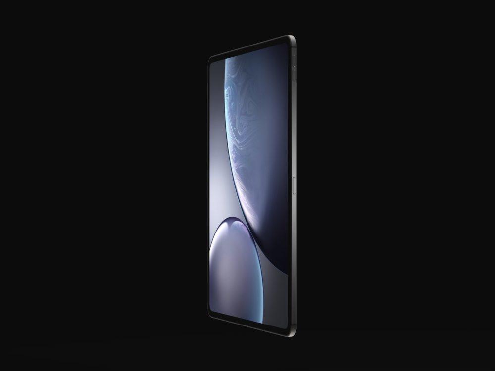 iPad Design Final 6 1000x750 Les derniers rendus montrent le design des iPad Pro de 2018 qui seront dévoilés le 30 octobre