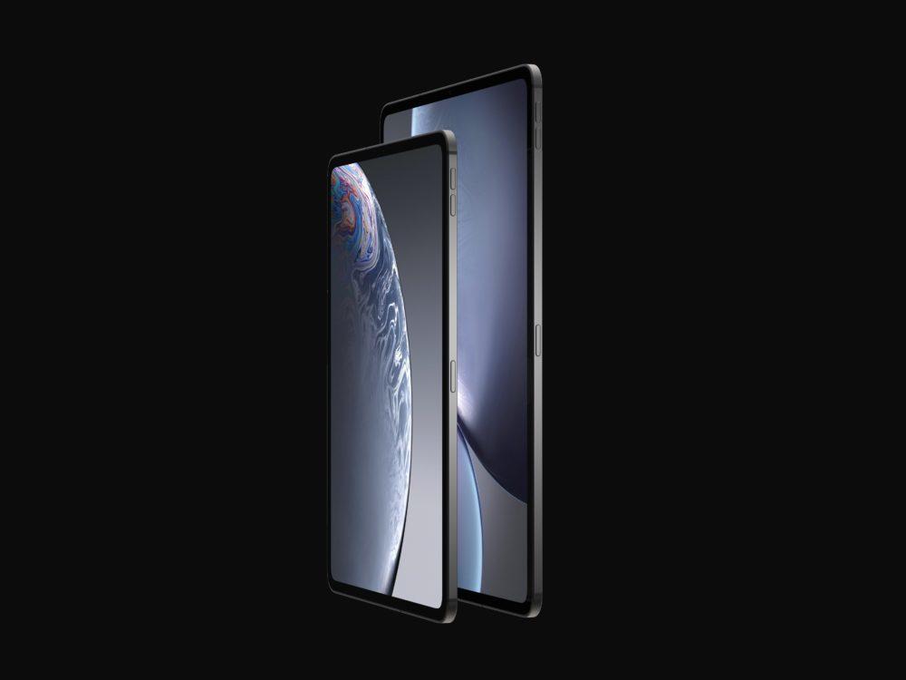 iPad final 7 1000x750 Les derniers rendus montrent le design des iPad Pro de 2018 qui seront dévoilés le 30 octobre