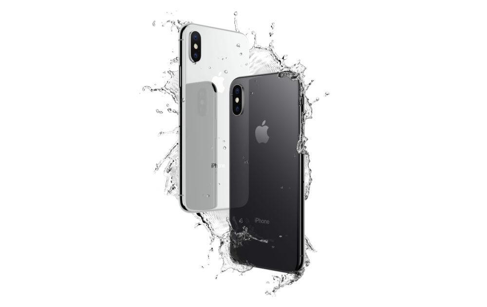 iPhone X Immersion Eau 1000x631 iPhone de 2019 : ils proposeraient une résistance à leau similaire à liPhone XS