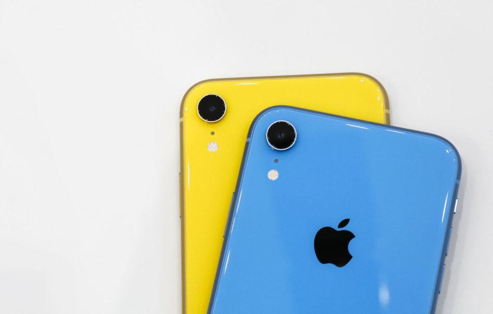 iPhone XR Jaune Bleu 1000x636 Selon les premiers testeurs de liPhone XR, le smartphone vaut la peine