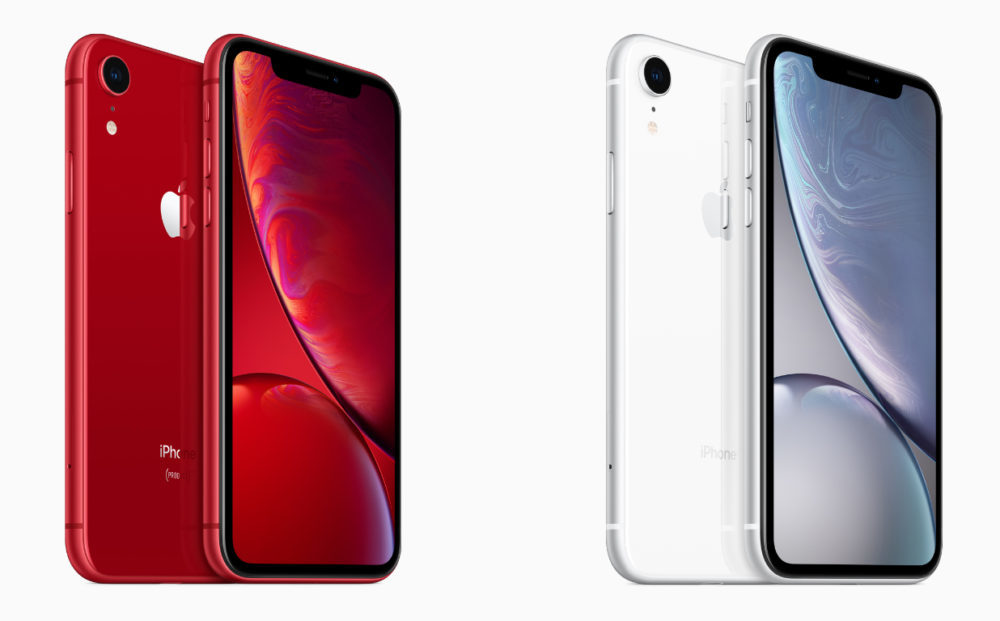 iPhone XR Rouge Silver 1000x621 Apple dévoile les frais de réparation de liPhone XR, moins élevés que ceux de liPhone XS/XS Max