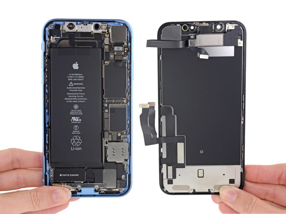iPhone XR iFixit 1 Dissection de liPhone XR par iFixit : le verdict