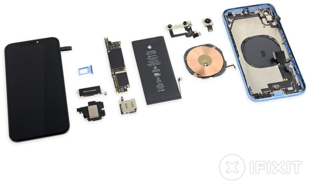 iPhone XR iFixit 3 Dissection de liPhone XR par iFixit : le verdict