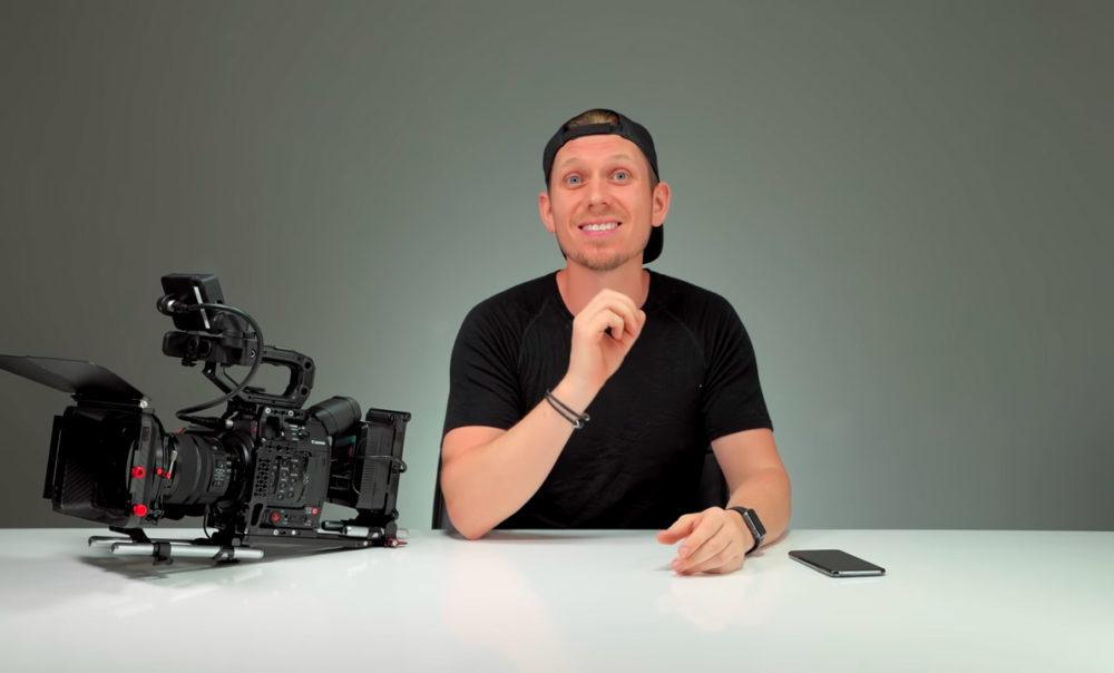 iPhone XS Camera VS Canon C200 Camera 1000x604 La caméra de liPhone XS face à une caméra de cinéma qui coûte 10 000 dollars
