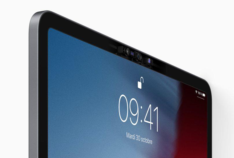 ipad pro faceID Nouvel iPad Pro 2018 : nouveautés, prix et date de sortie