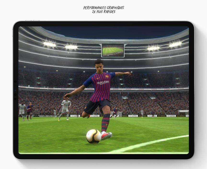 ipadpro perfs graph Nouvel iPad Pro 2018 : nouveautés, prix et date de sortie