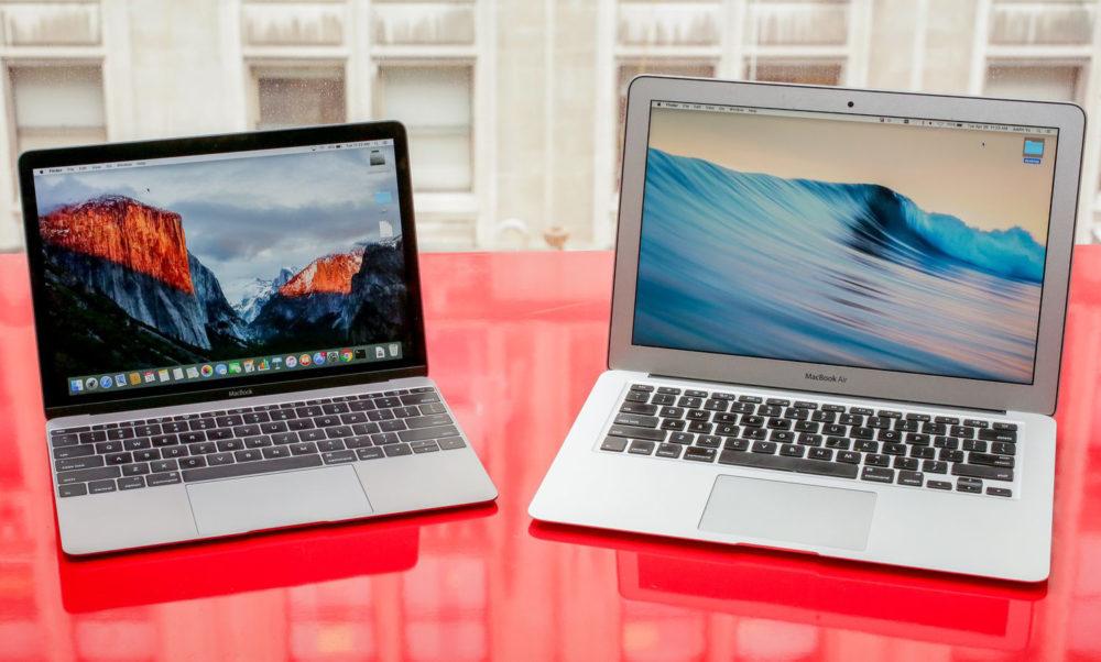 macbook vs macbook air 1000x602 Un nouveau MacBook pour remplacer le MacBook Air serait présenté à la keynote du 30 octobre ?
