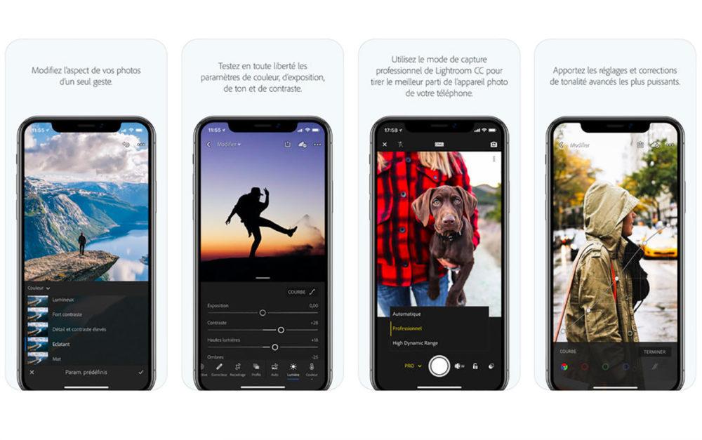 Adobe Lightroom iOS 1000x627 Adobe Lightroom CC prend en charge les iPad et iPhone 2018 ainsi que les nouveaux gestes de lApple Pencil