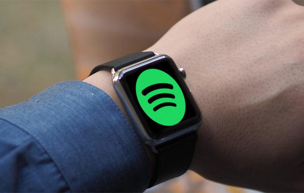 Lapplication Spotify pour Apple Watch est disponible en version finale