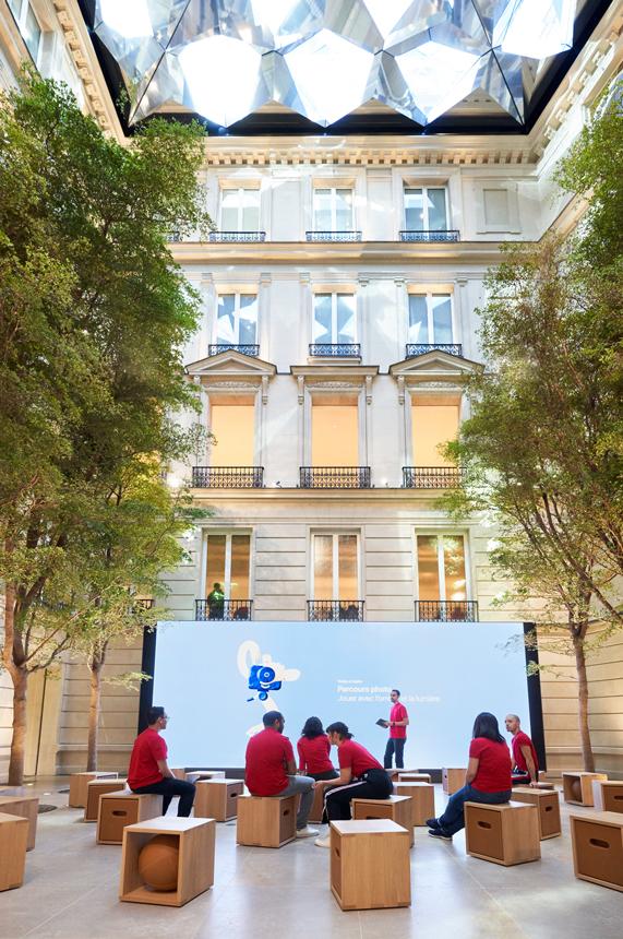 Apple Champs Elysees 2 Voici les premières photos de lApple Store Champs Élysées