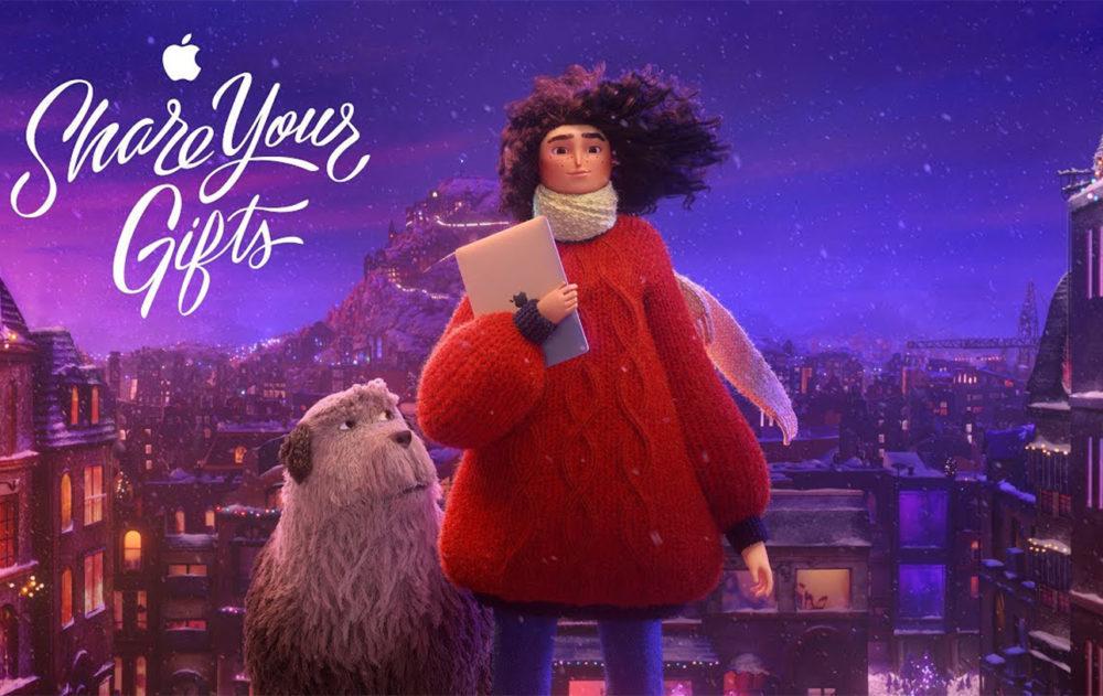 Apple Pub Noel Animee 2018 Share Your Gifts 1000x631 Apple partage sa nouvelle publicité de Noël animée intitulée « Share Your Gifts »