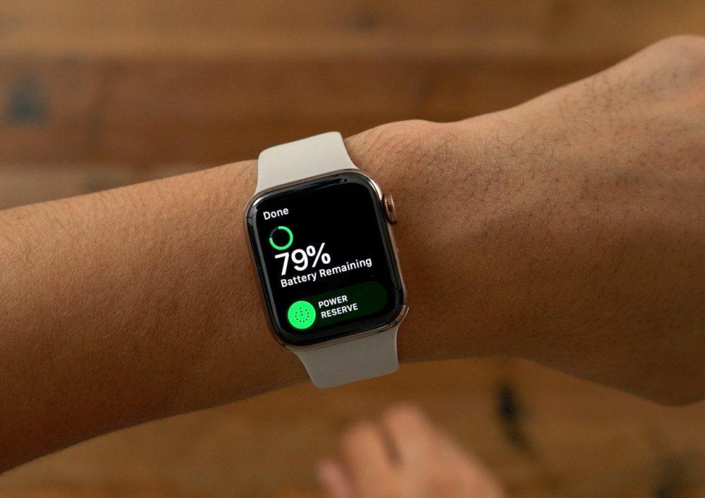 Apple Watch Series 4 Battery 1000x707 Apple publie watchOS 5.1.1 suite aux plantages causés par watchOS 5.1