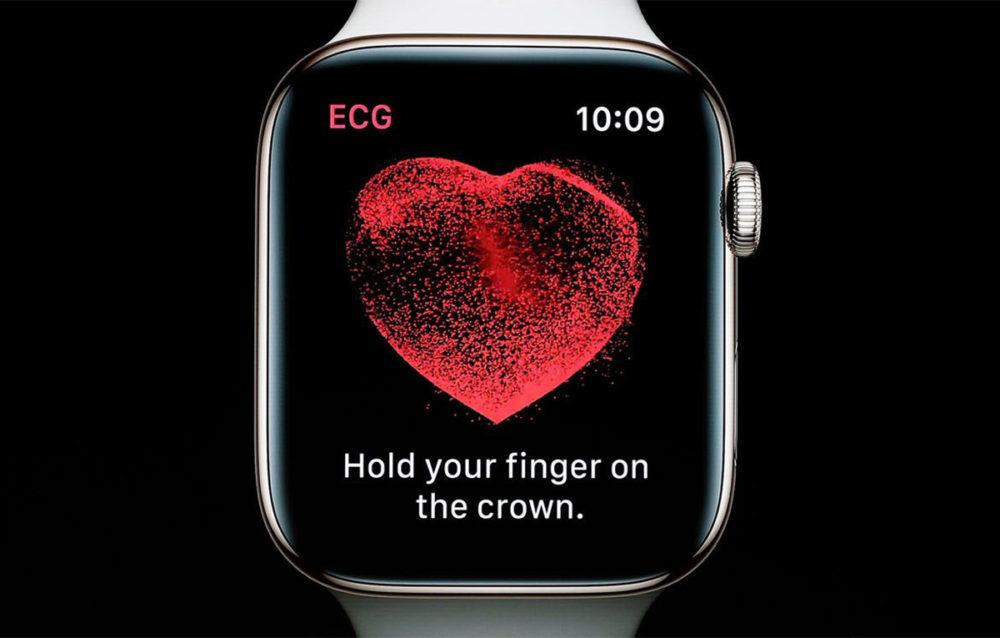 Apple Watch Series 4 ECG 1000x638 Lélectrocardiogramme sur lApple Watch Series 4 arriverait avec watchOS 5.1.2