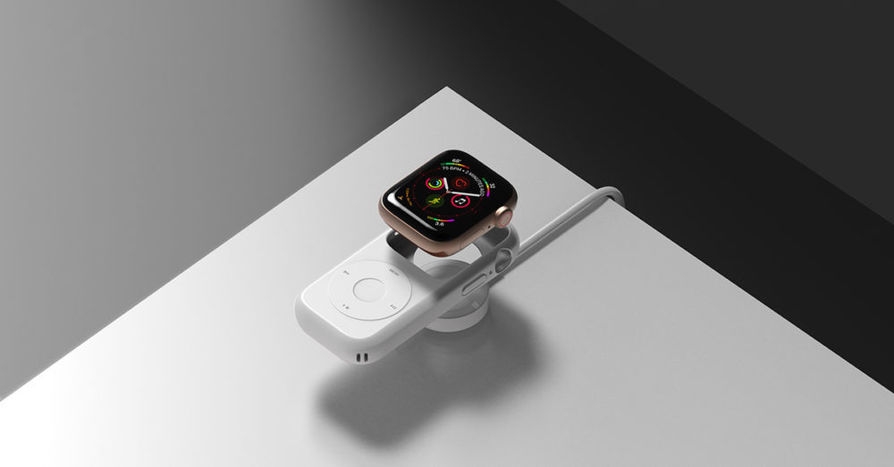 Un concept nostalgique imagine un étui qui transforme une Apple Watch en un iPod original
