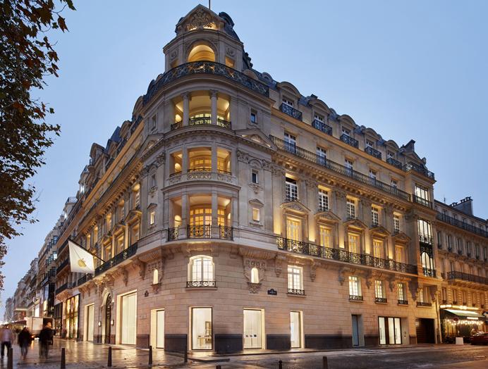 Cover Apple Store Champs Elysees Voici les premières photos de lApple Store Champs Élysées