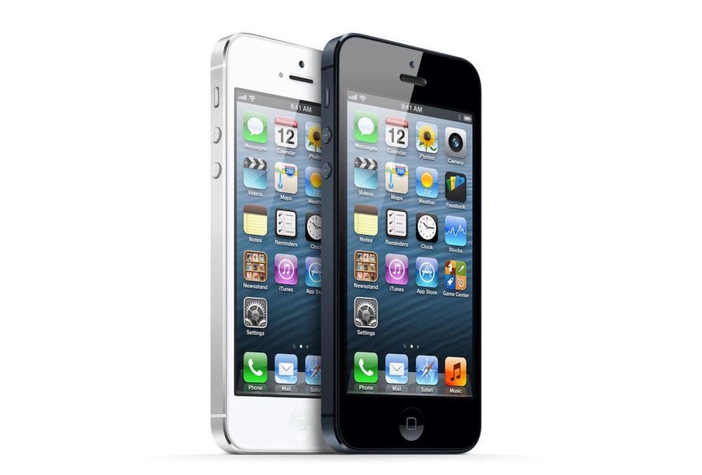 iPhone 5 Apple 1000x677 Vous utilisez un iPhone 5 ? iOS 10.3.4 est requis pour quil continue de fonctionner