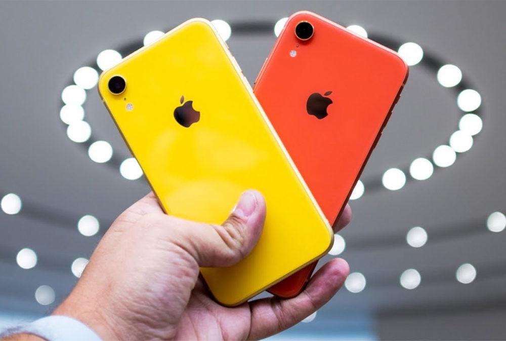 iPhone XR Rouge Jaune 1000x673 LiPhone XR est liPhone le plus vendu chaque jour depuis sa sortie