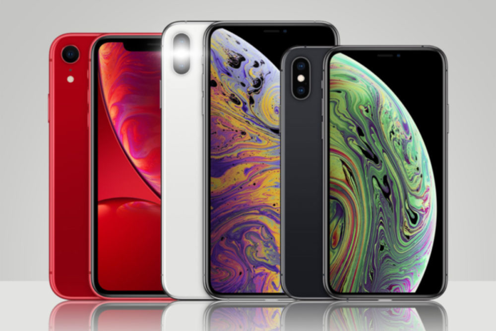 iPhone XR XS XS Max 1000x667 Apple a vendu plus de smartphones que les autres fabricants pendant le Singles Day en Chine