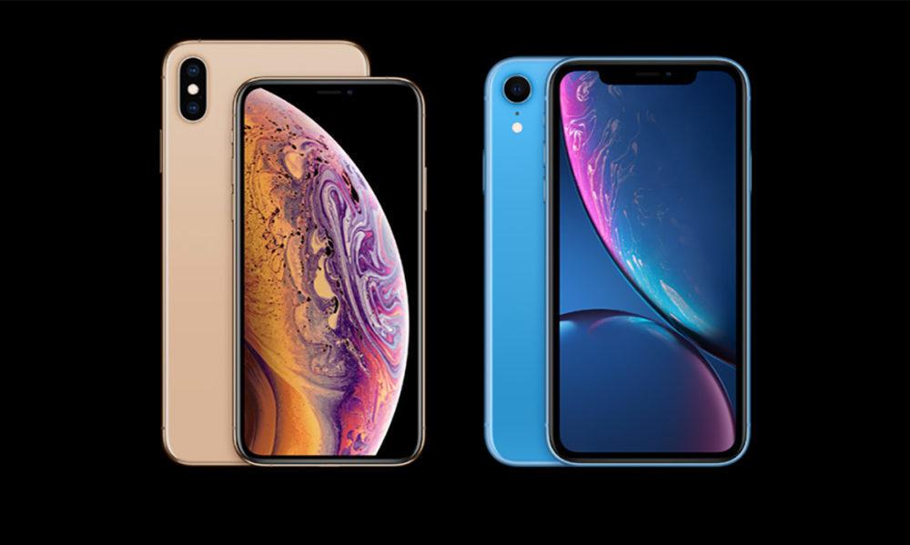 iPhone XS XS Max XR 1000x599 Apple aurait réduit les commandes de production pour les iPhone XS et liPhone XR