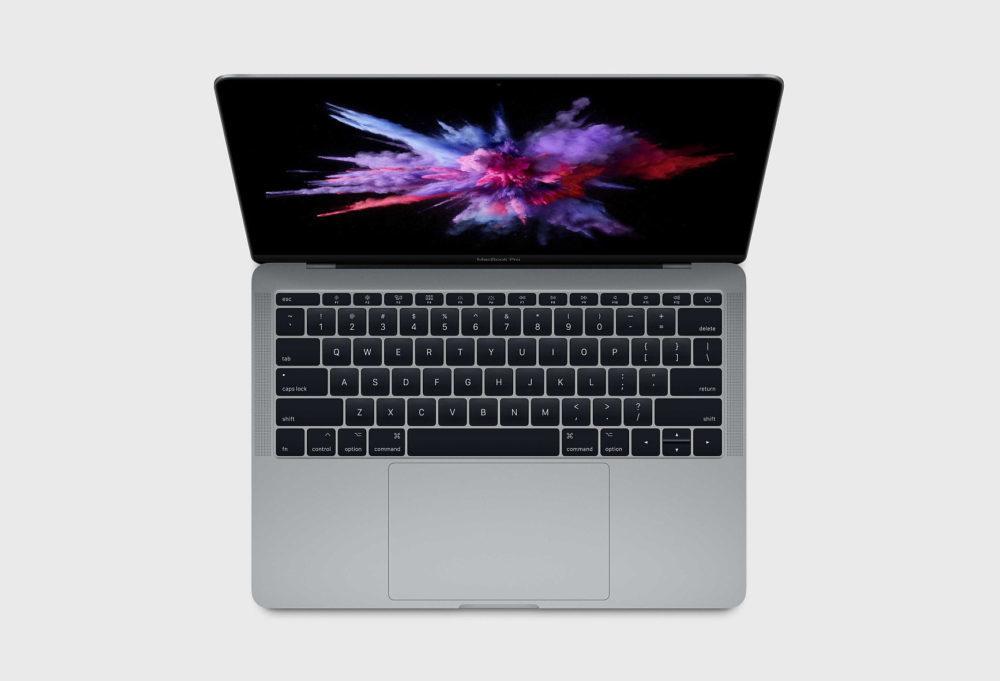 macbook pro 13 sans touch bar 1000x681 Apple propose une réparation gratuite du SSD du MacBook Pro 13 pouces sans Touch Bar