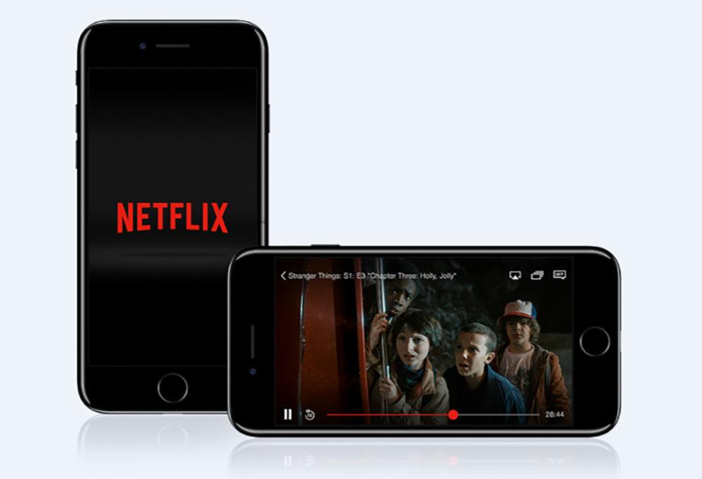 netflix iphone 1000x683 Netflix sur iOS mis à jour et ajoute la prise en charge de la résolution de liPad Pro 2018