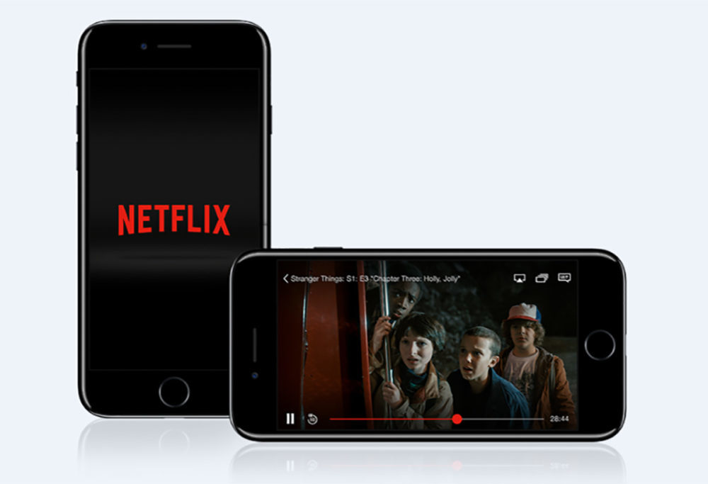 netflix iphone 1000x683 Il nest plus possible de payer son abonnement Netflix à partir de lapplication iOS