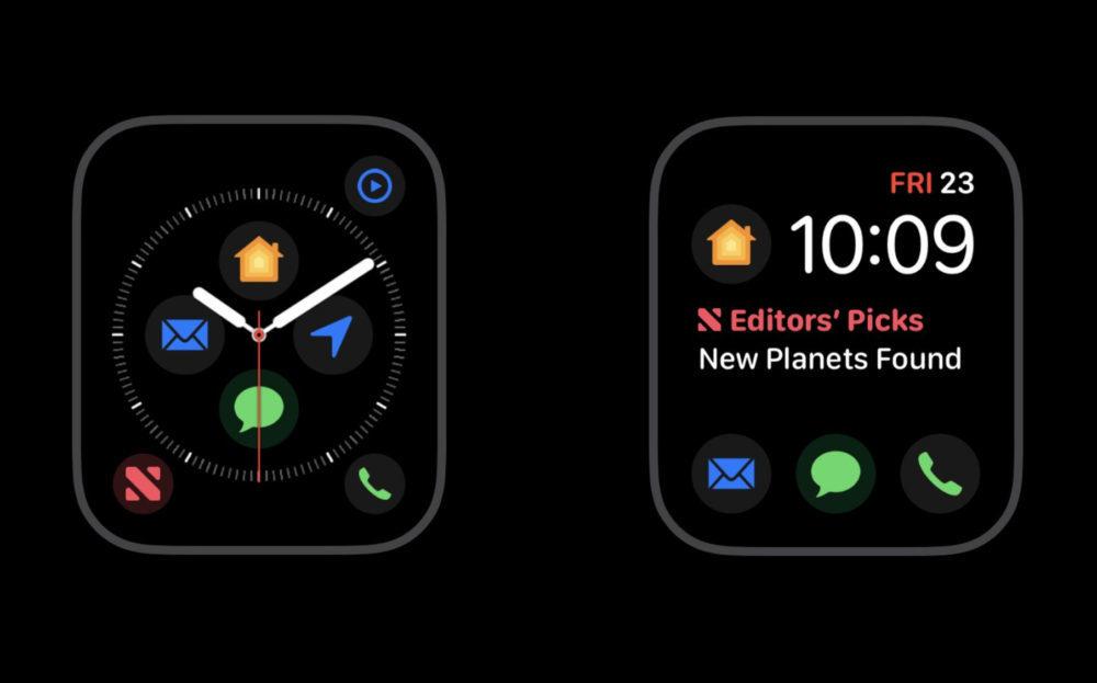 nouvelles complications apple watch 1000x623 Bientôt 7 nouvelles complications sur le cadran Infograph Modulaire de lApple Watch Series 4 ?