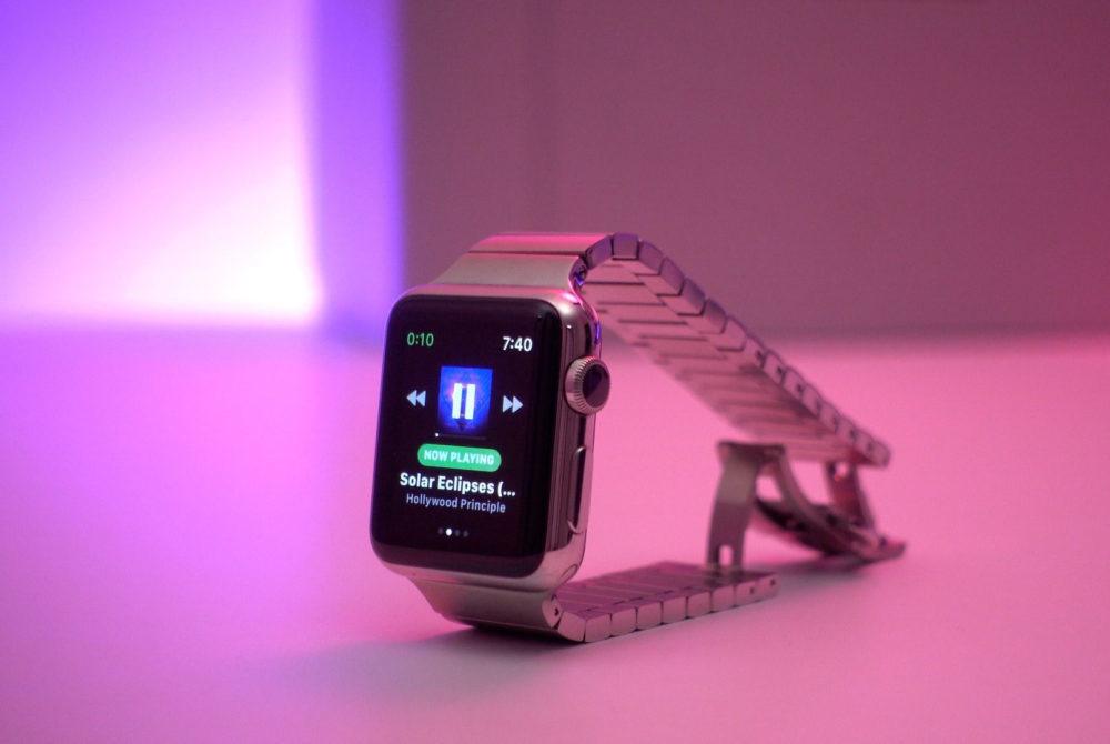 spotify apple watch spotty 1000x670 Spotify se prépare à lancer son application sur lApple Watch, une version bêta est disponible