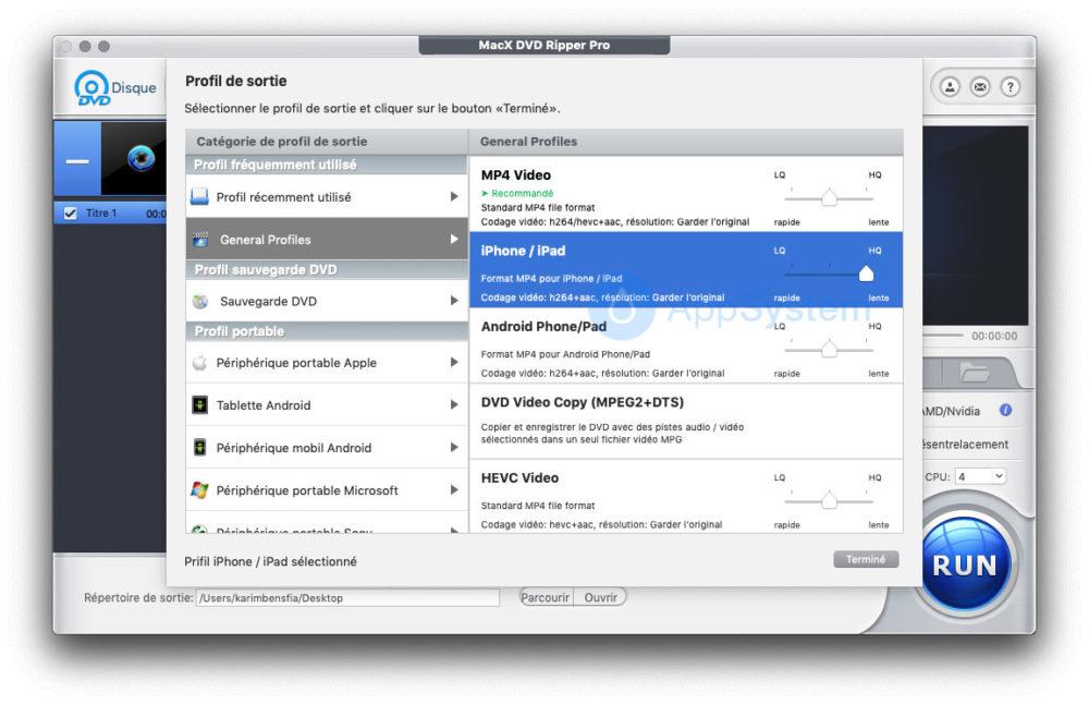 2 Comment sauvegarder et transférer vos DVD sur votre Mac, iPad et iPhone
