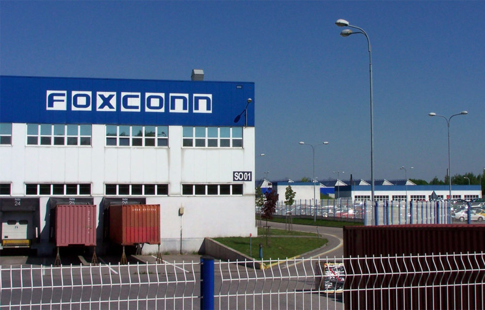 Foxconn Chine 1000x639 Foxconn pourrait produire des iPhone 12 « Made in India » au début de lannée 2021