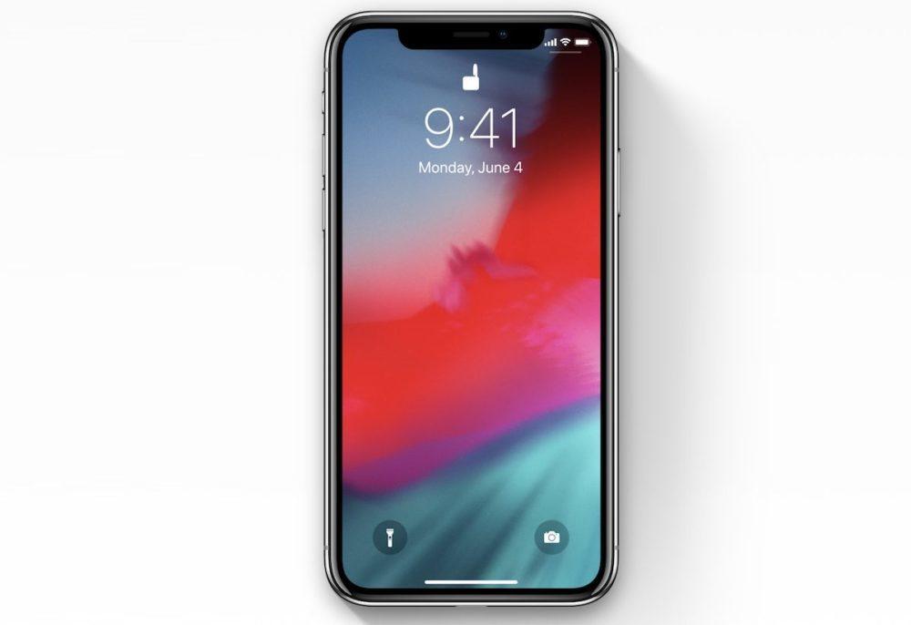 ios 12 iphone x 1000x686 iOS 12.4 bêta 1 est disponible au téléchargement