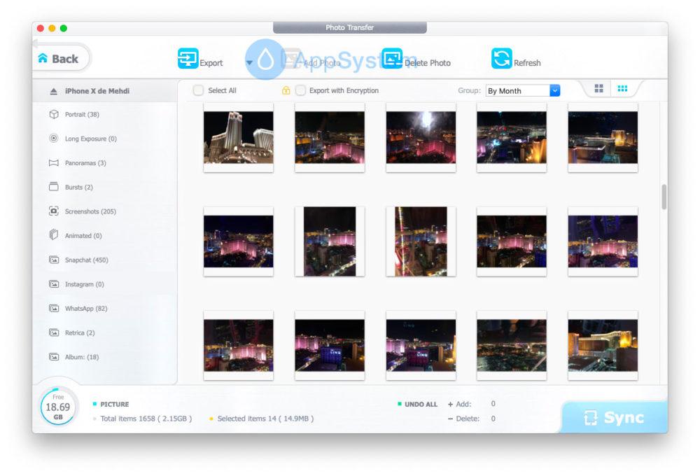 2 Comment sauvegarder et transférer les photos et données de votre iPhone sans iTunes
