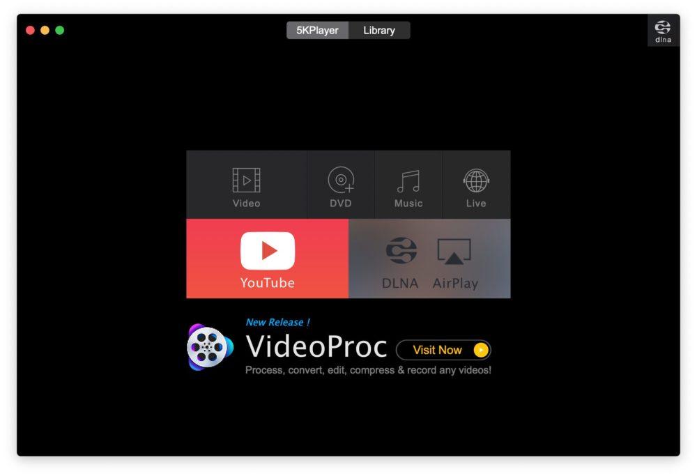 5kplayer capt Comment lire et télécharger des vidéos 4K gratuitement (Windows et Mac)