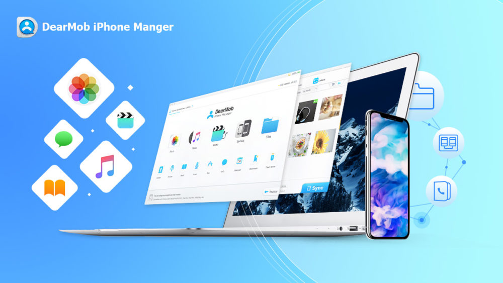 dearmob iphone manager banner Comment sauvegarder et transférer les photos et données de votre iPhone sans iTunes