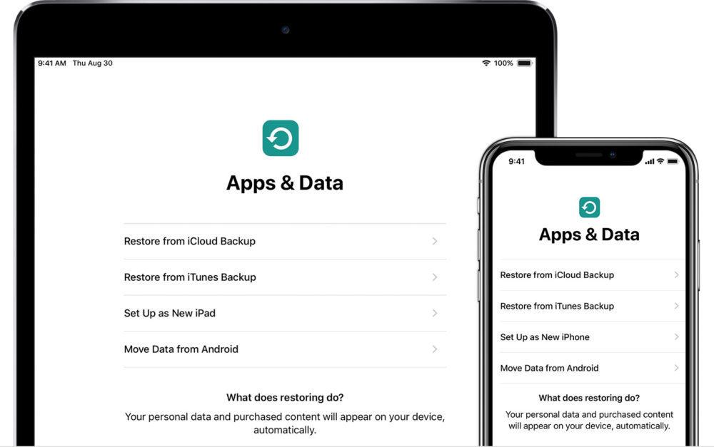 sauvegarde icloud 1000x627 Les utilisateurs diPad ne peuvent pas restaurer les sauvegardes diPhone sous iOS 12.1.2