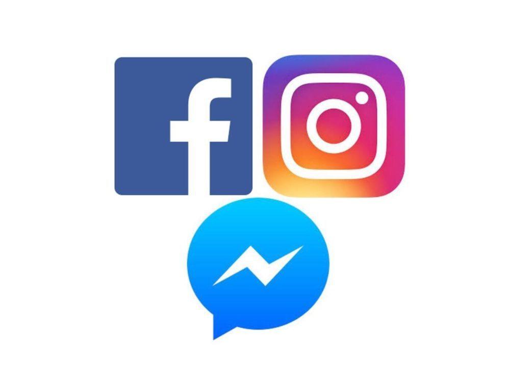 social logo 1000x736 Facebook va fusionner les conversations WhatsApp, Instagram et Messenger