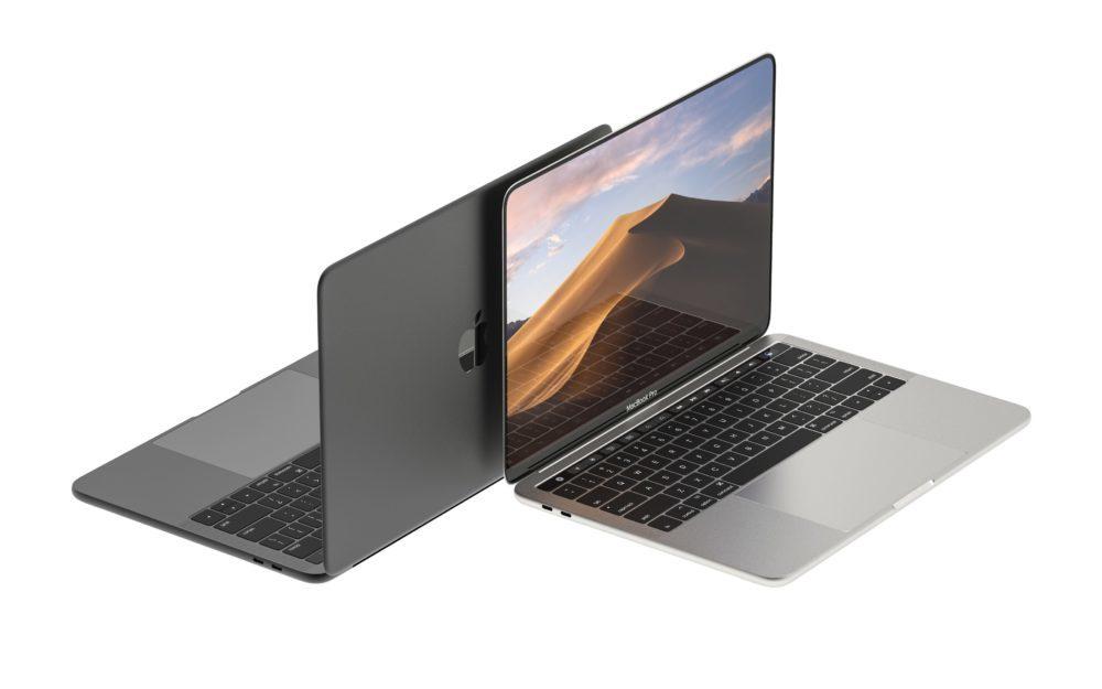 MacBook Pro Concept 2 1000x625 Le MacBook Pro 16 pouces à bords réduits arriverait en septembre prochain