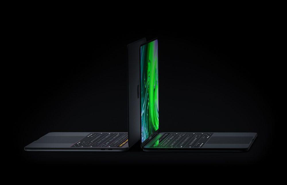 MacBook Pro Concept Side 1000x645 Un concept MacBook Pro avec un écran OLED bord à bord, Face ID et plus