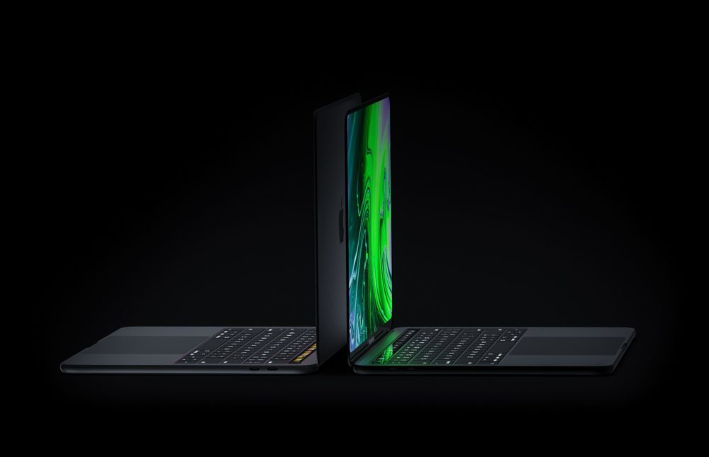 MacBook Pro Concept Side 1000x645 Un concept MacBook Pro avec un écran OLED bord à bord, Face ID et plus