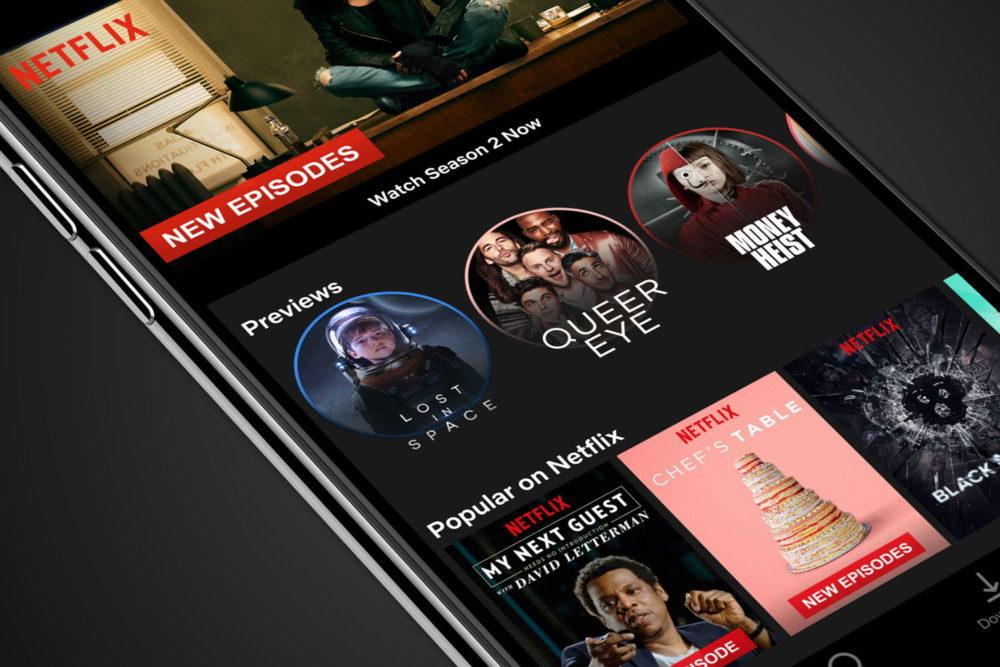 Netflix iPhone 1000x667 Netflix sur iOS propose une fonction pour télécharger les épisodes automatiquement