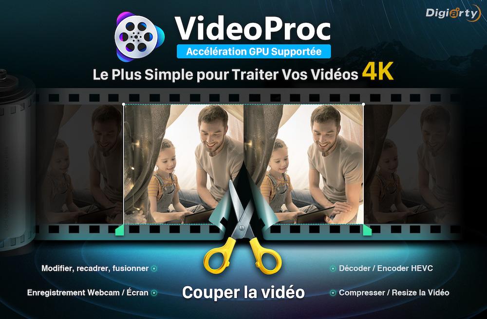 Video Proc Digiarty Comment convertir et éditer des vidéos pour iPhone en toute facilité