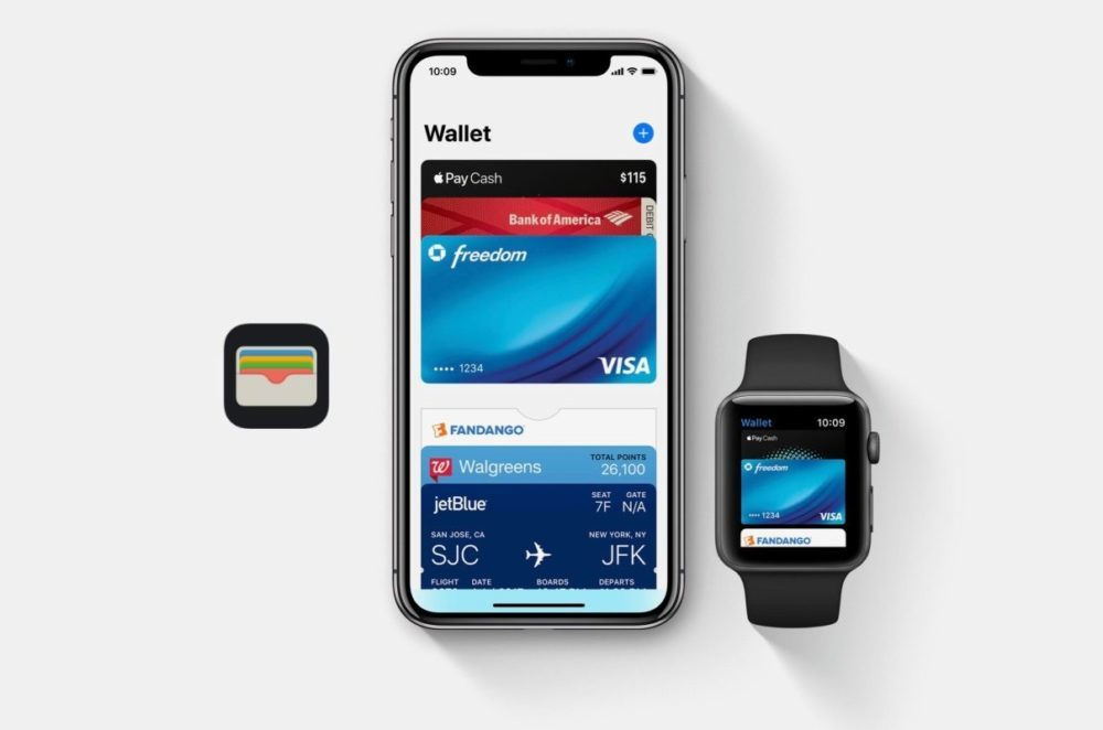 apple pay iphone apple watch 1000x662 Apple Pay pourrait représenter 10% de toutes les transactions par carte dici 2025