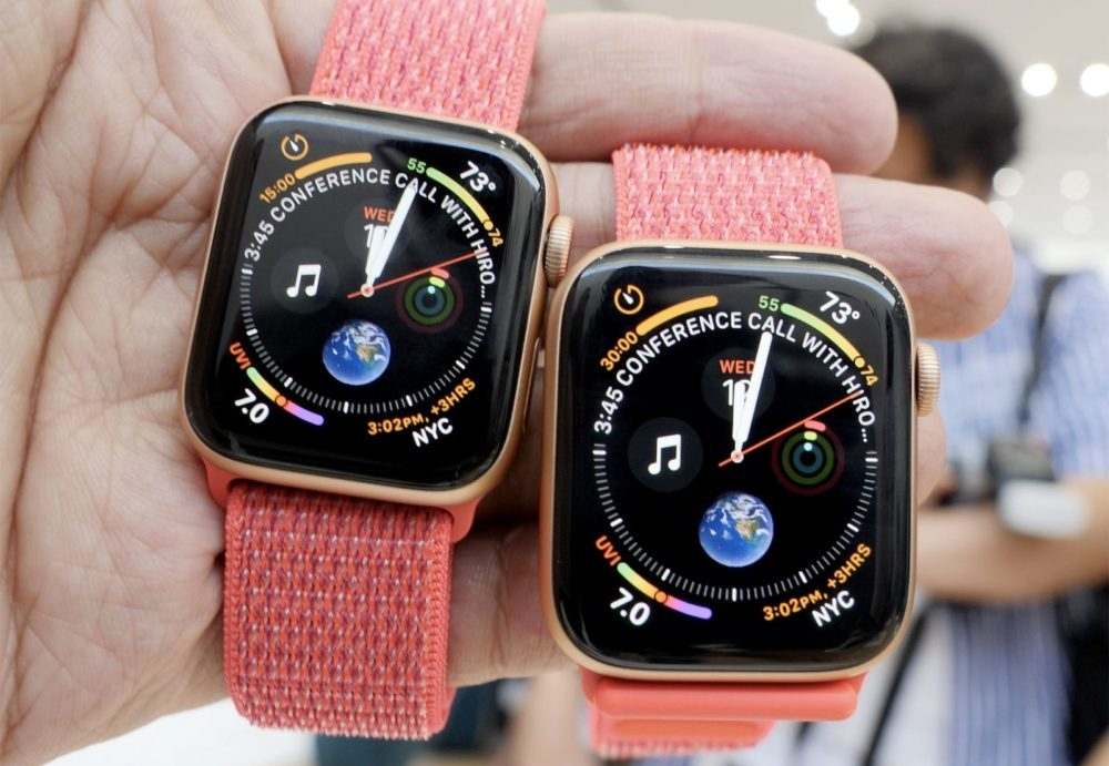 apple watch series 4 1000x691 watchOS 5.2.1 bêta 5 est disponible pour lApple Watch